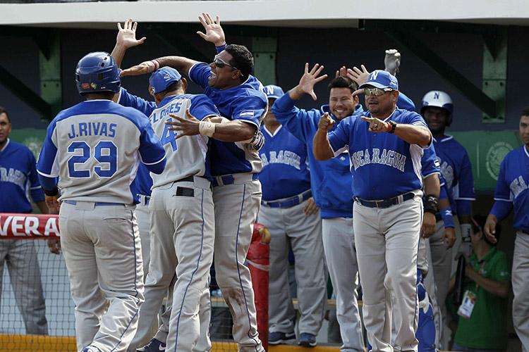 Resultado de imagen para seleccion de beisbol de nicaragua
