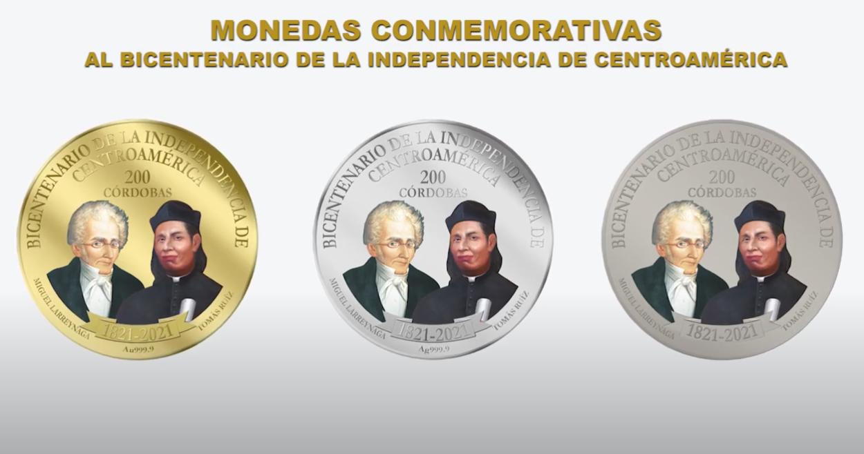 Banco Central emite moneda conmemorativa por el Bicentenario de  Centroamérica - Vos TV