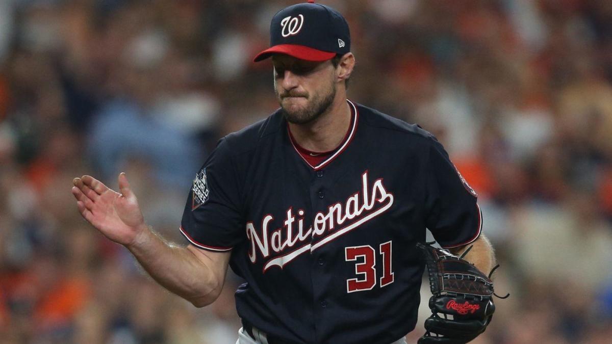 Scherzer con su experiencia dominó a la ofensiva de los Astros.
