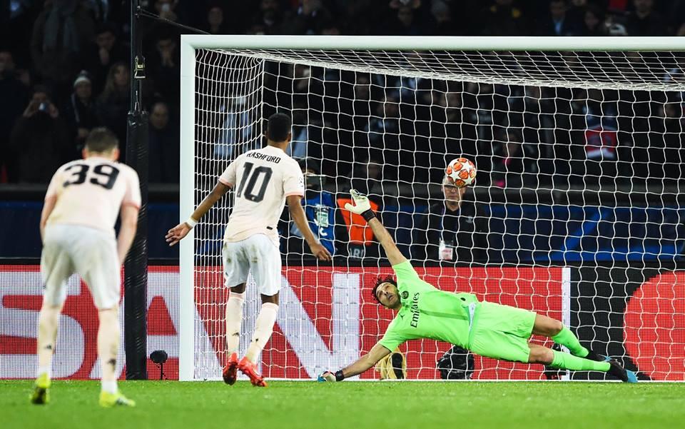 Rashford marca el gol de la clasificación para el United