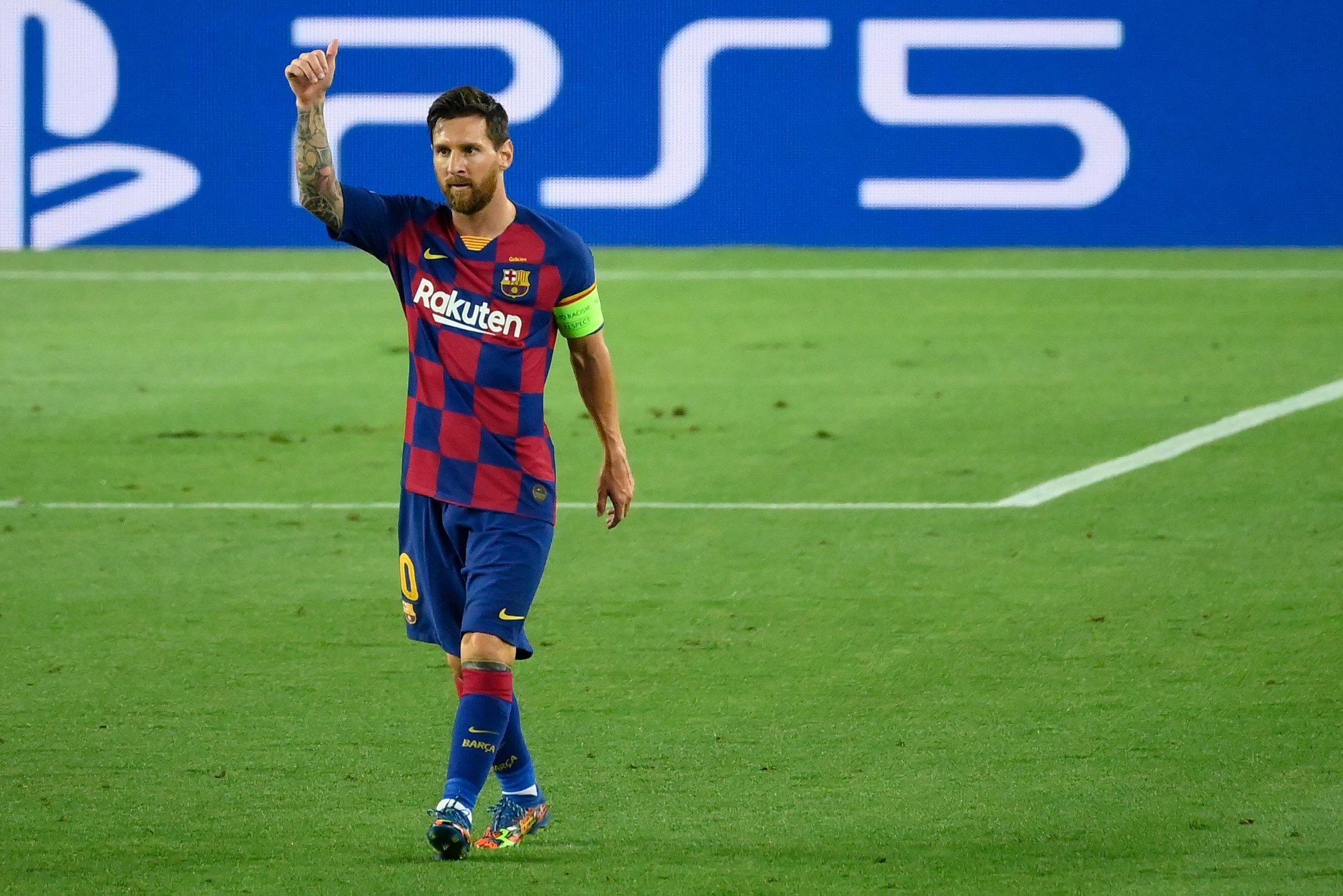 Lionel Messi vuelve a ser figura del FC Barcelona