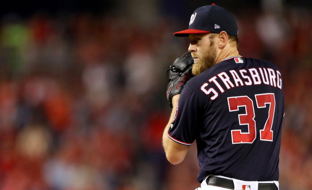 Strasburg el As que los Yankees esperan para su rotación de abridores
