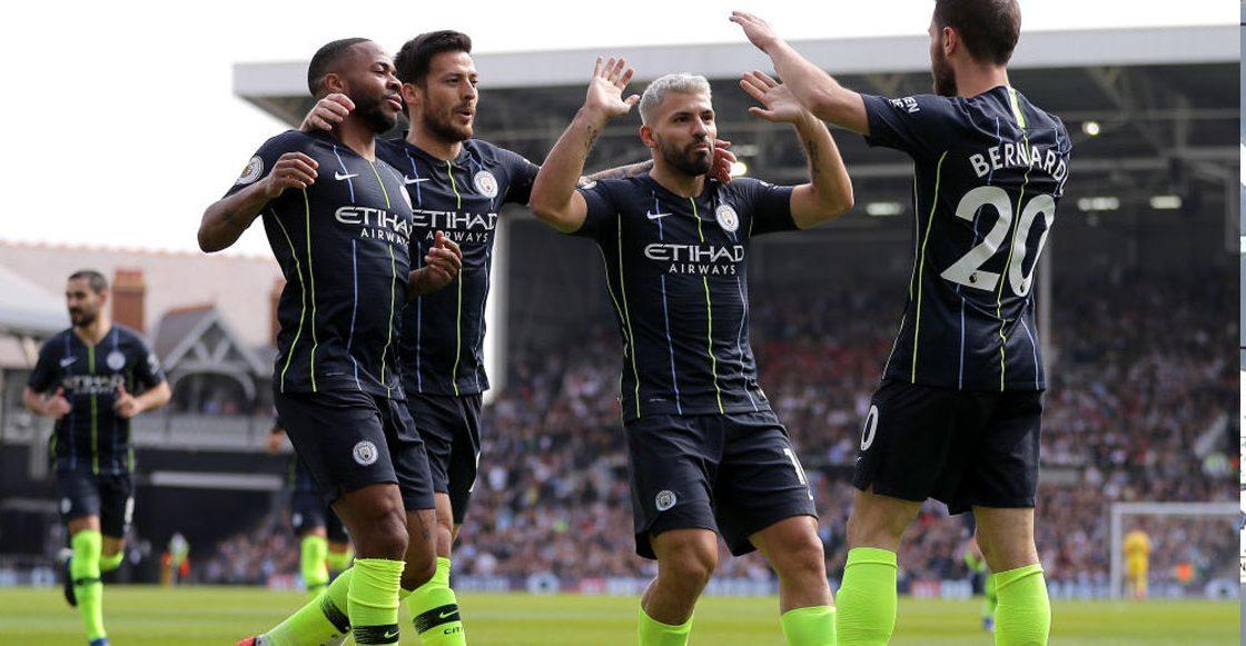 El City goleo al Brighton para proclamarse campeón de la Premier League