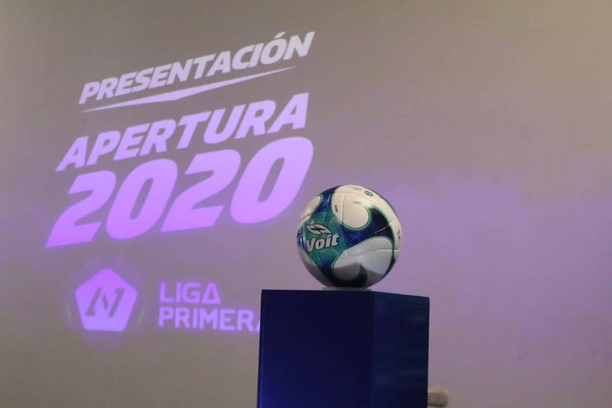 El Voit Bliss balón oficial del apertura 2020