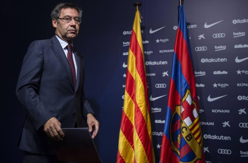 La gestión de Bartomeu  es considerada como una de las peores en el FC Barcelona.