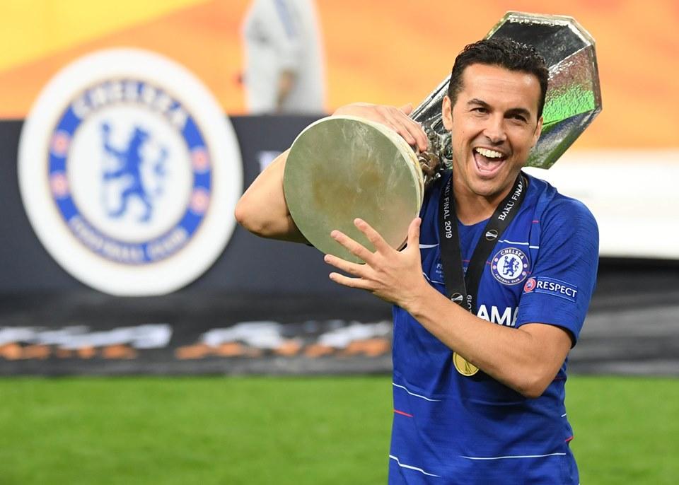 Pedro es el único jugador en anotar en finales de los tres torneos UEFA