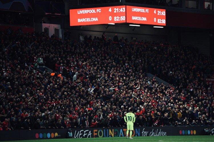 Una nueva decepción para Messi a quien se le niega la orejona