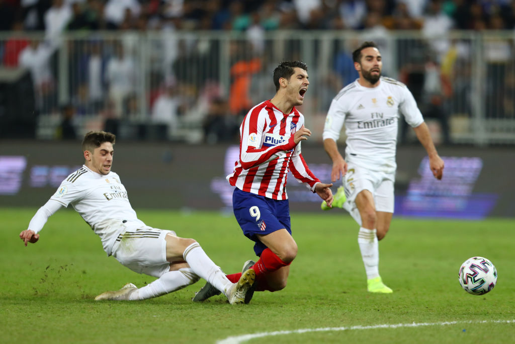 La jugada que salvo al Madrid realizada por Federico Valverde