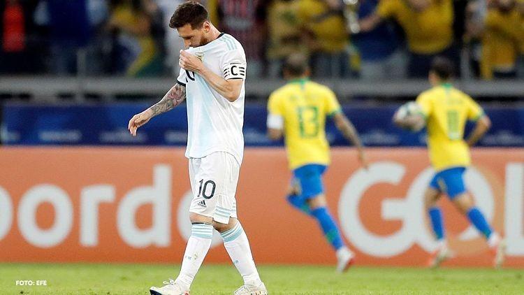 Lionel Messi, otra vez sin títulos con Argentina