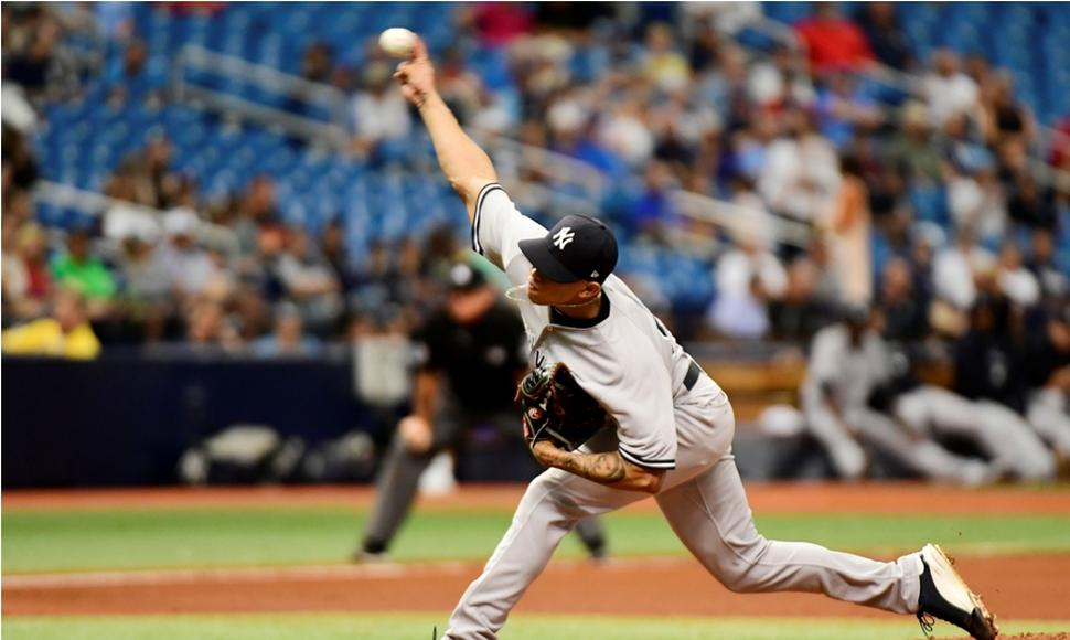 Loaisiga sigue demostrando su calida con los Yankees