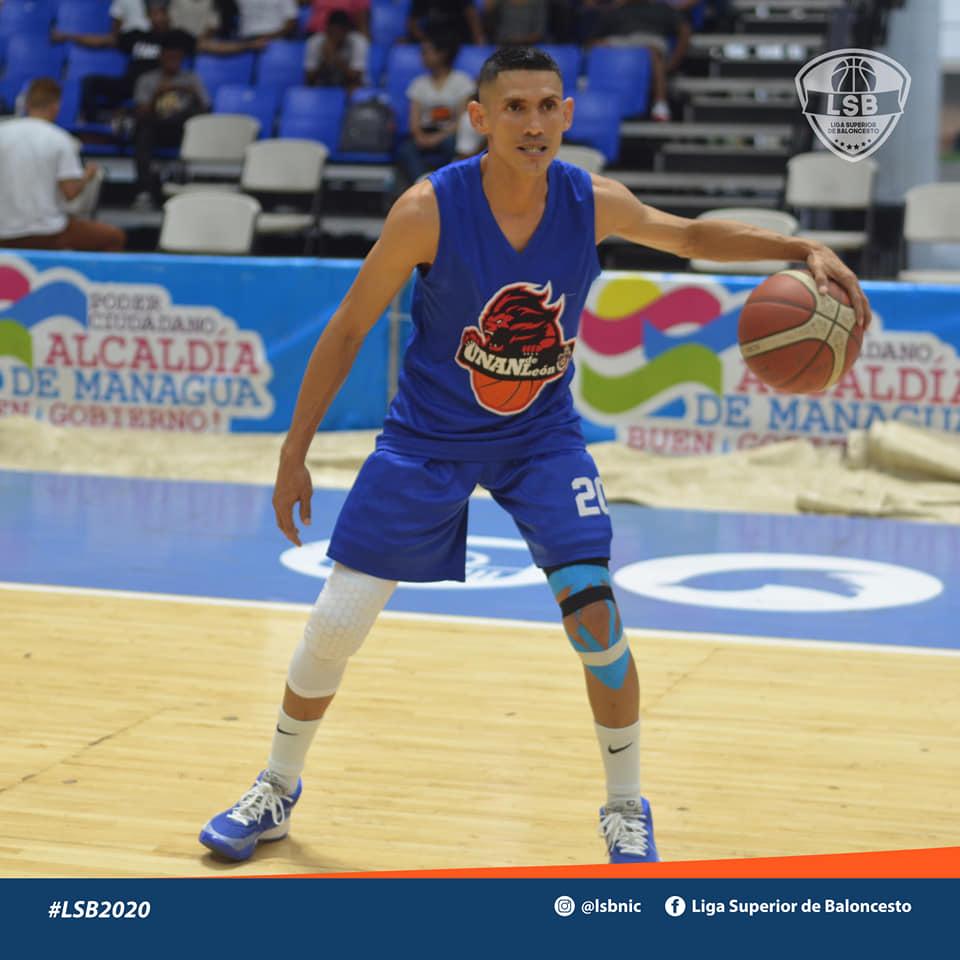 Harold Barberena uno de los mejores jugadores de la UNAN-León