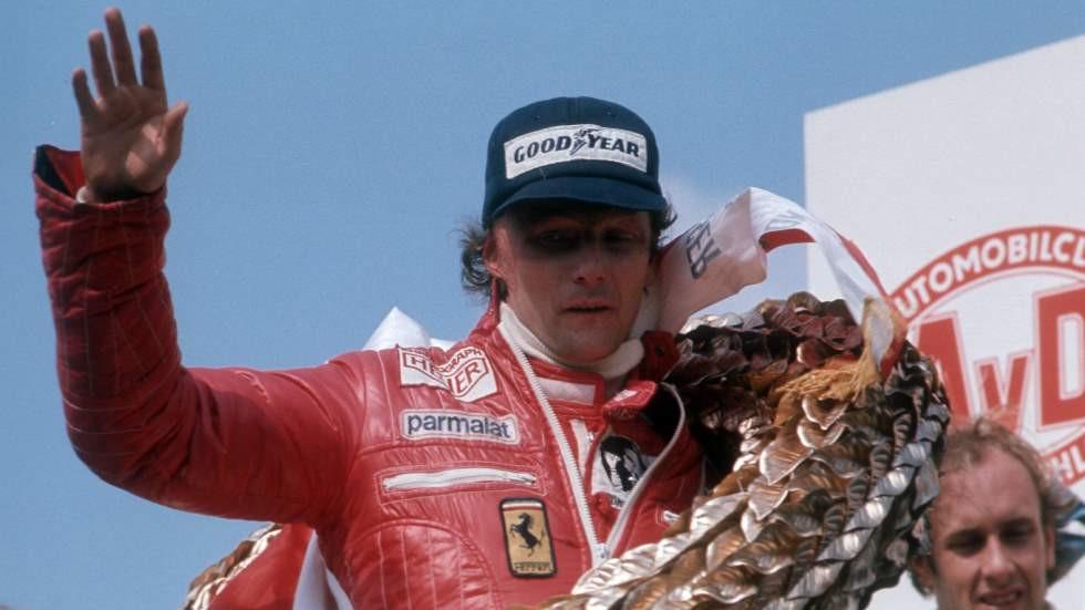 Lauda consagrado como campeón mundial F1
