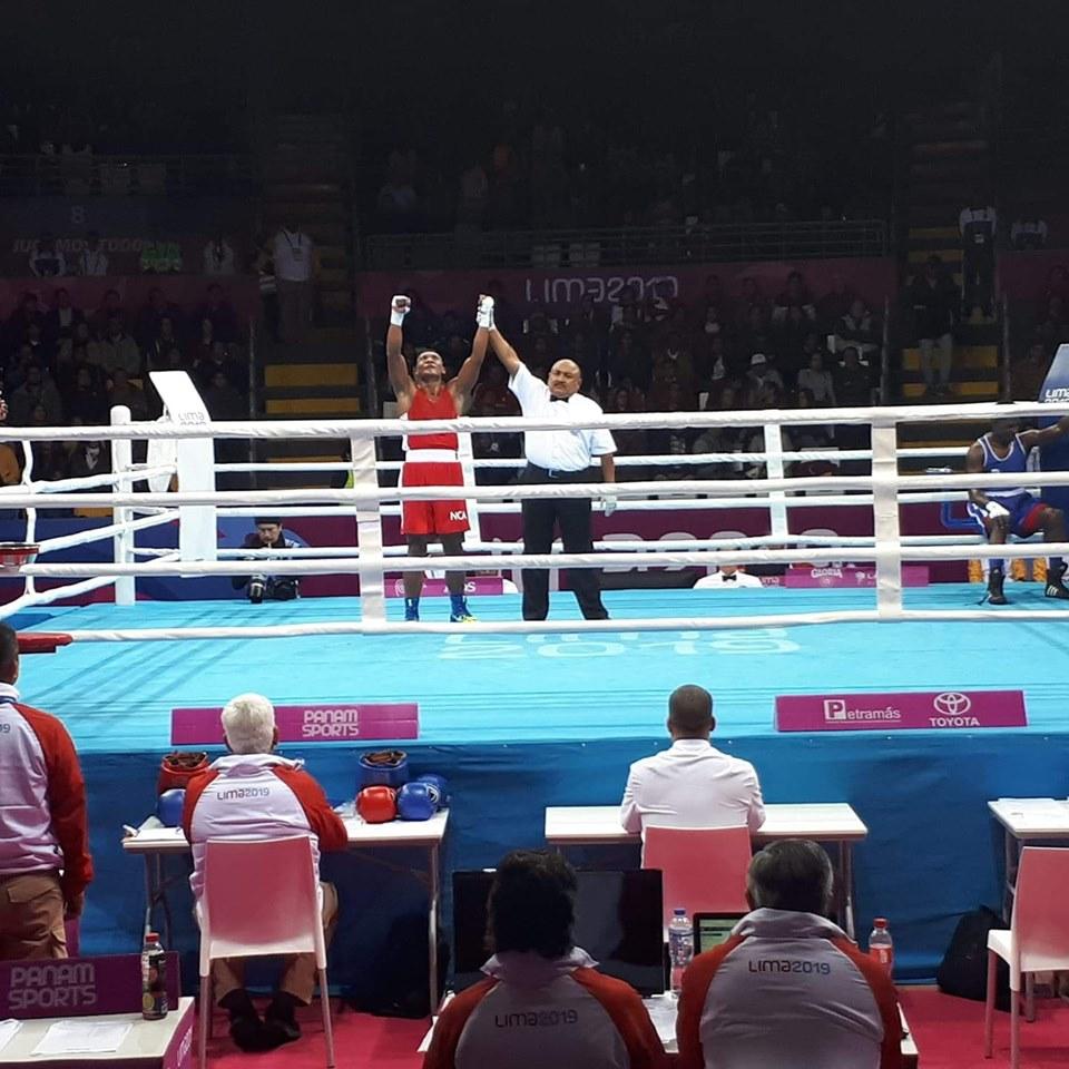 Lester Espino suma la segunda medalla para Nicaragua.