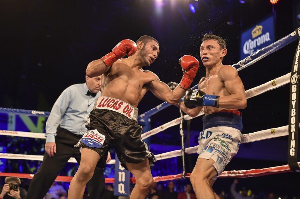 Momentos de la primera pelea entre Cancio Y Alvarado