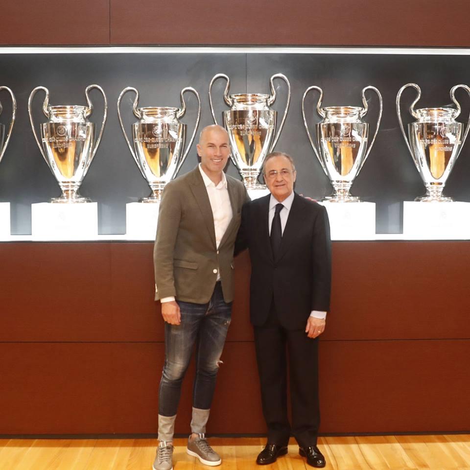Zidane intentará devolverle los éxitos al Real Madrid