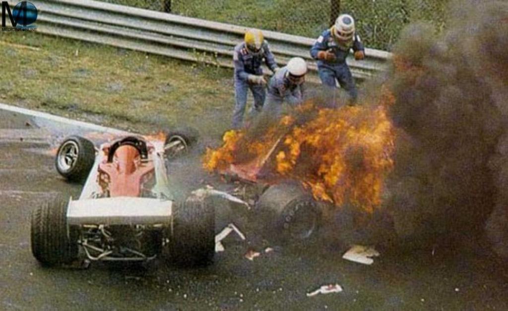 El accidente que marcó la carerra del piloto