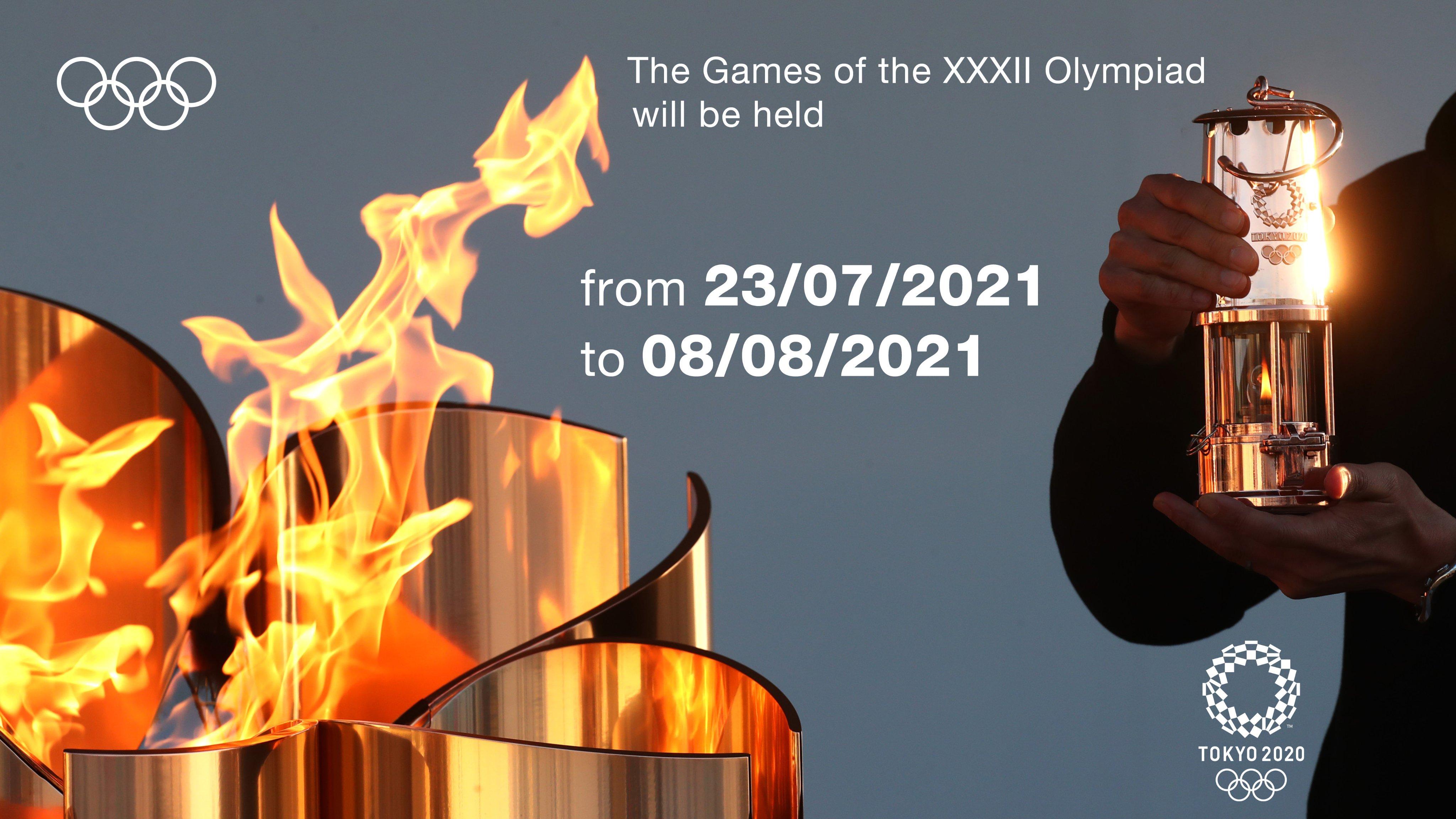 La nueva fecha para los juegos olímpicos