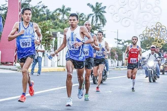 Dirian Bonilla en una de las pruebas realizadas en Managua