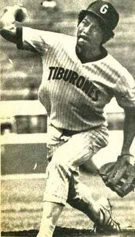 Diego Raudez tremendo ponchador de nuestro béisbol