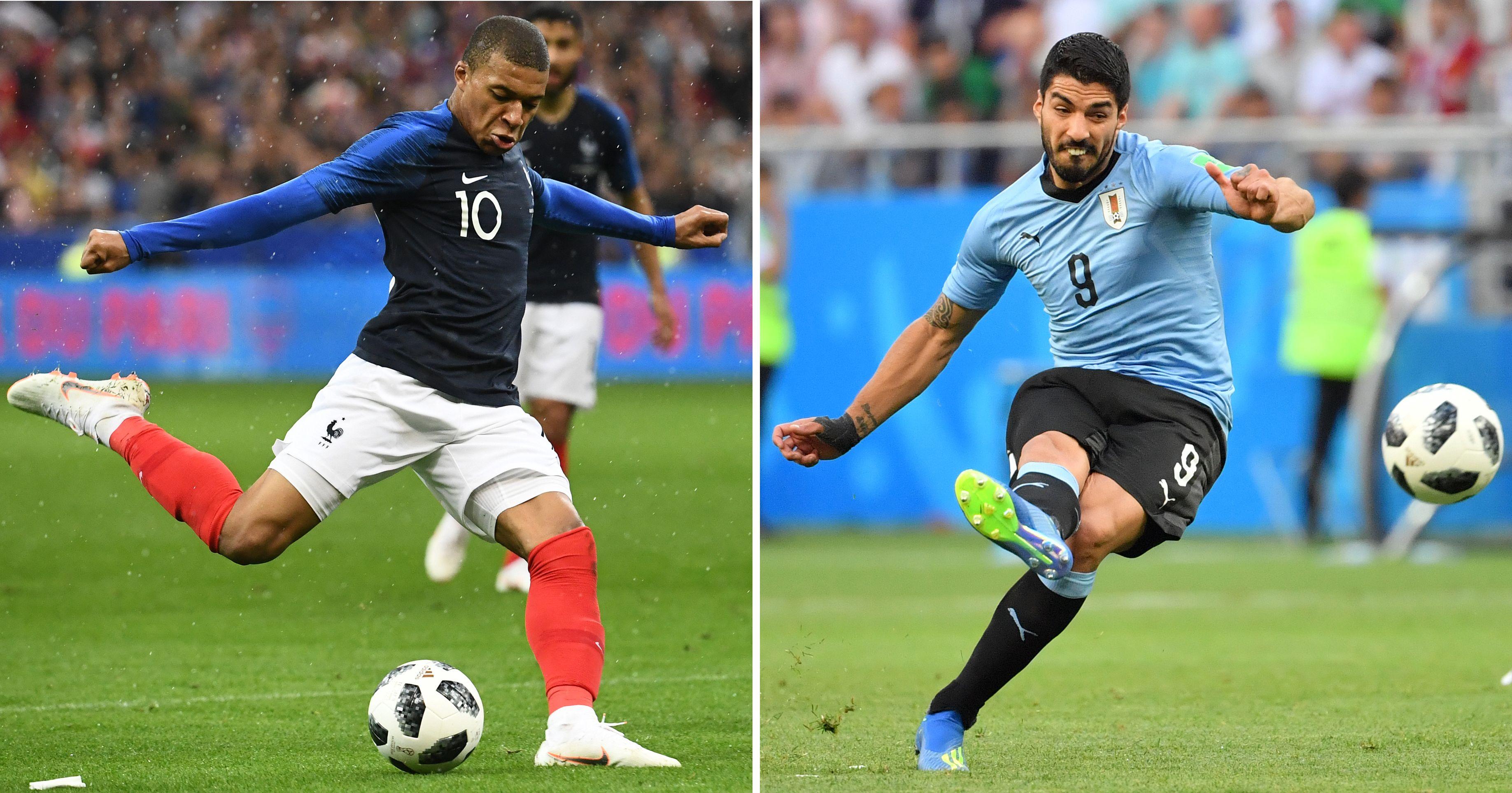 Mbappé y Suárez los delanteros encargados de anotar el gol