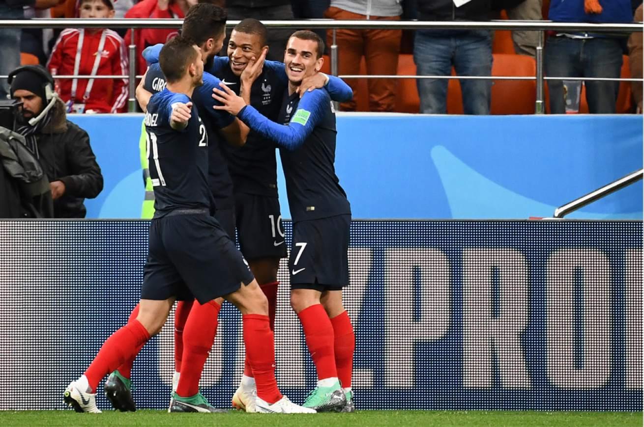 Francia jugará el domingo su tercera final en un mundial.