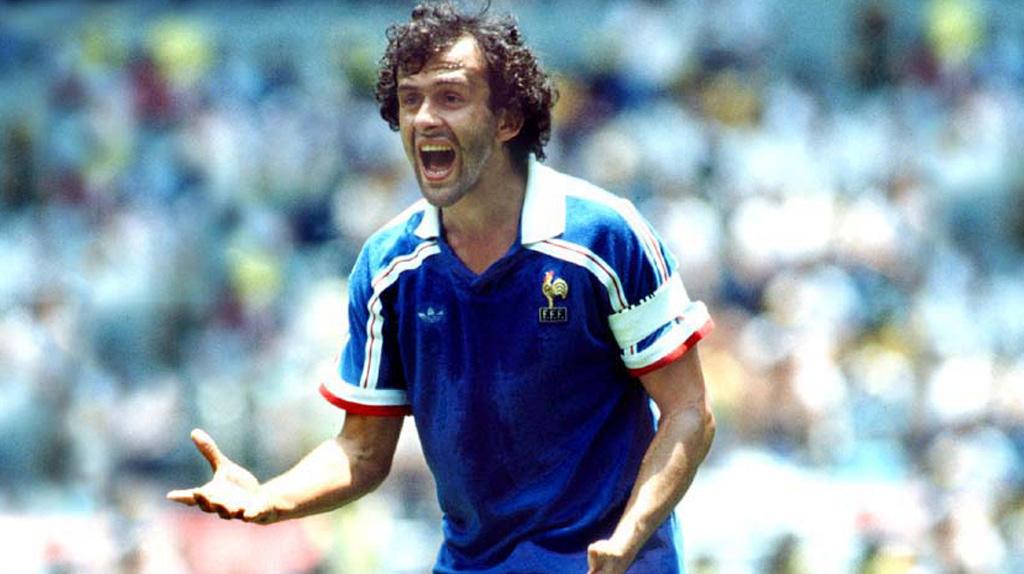 El francés en el mundial de México 1986