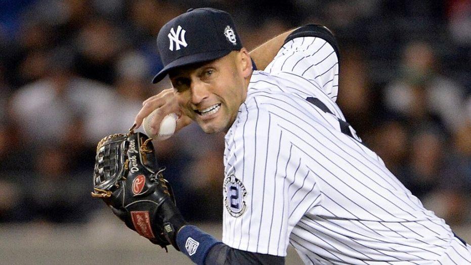 Jeter gano 5 anillos de serie mundial y conectó más de 3mil hits con los Yankees