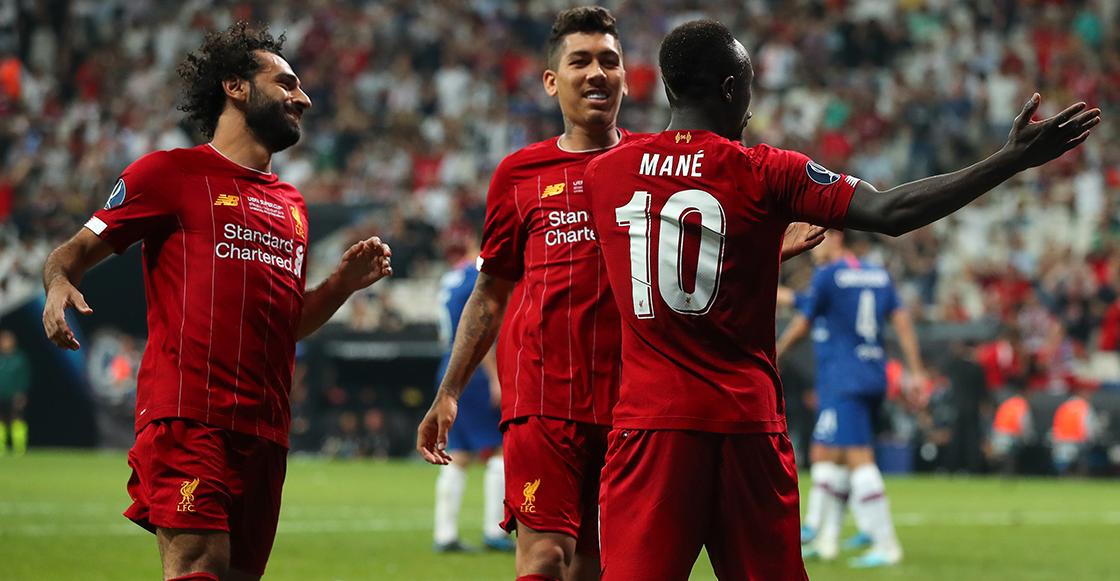 Sadio Mané el anotador de los goles del Liverpool