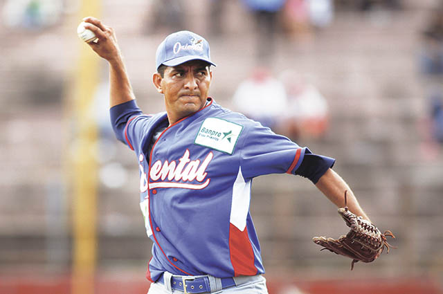 Julio Raudez logró llegar hasta triple A en el béisbol organizado