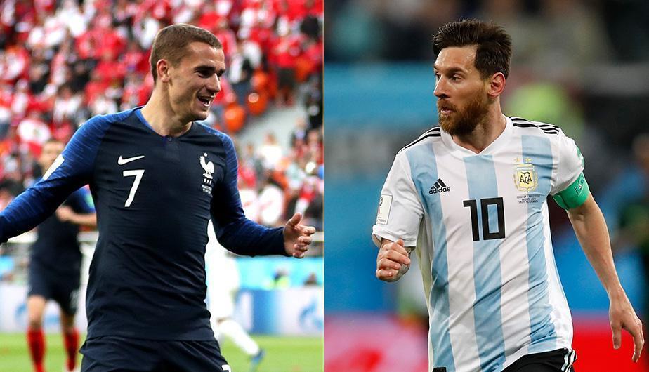 Griezmann vs Messi el duelo de delanteros