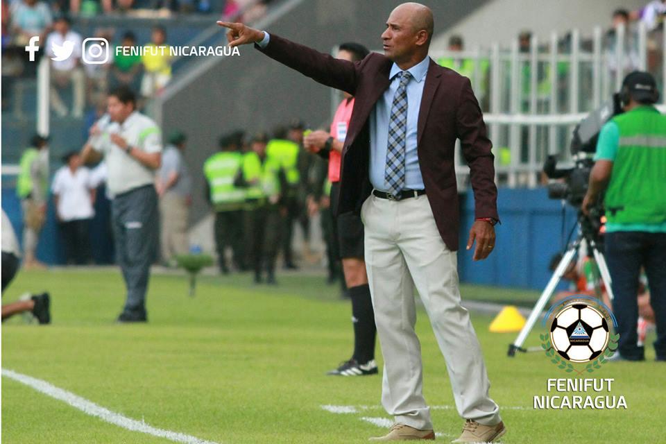 Henry Duarte durante el amistoso Bolivia vs Nicaragua
