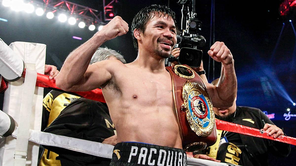 El filipino es monarca en 8 categorías distintas una leyenda del boxeo