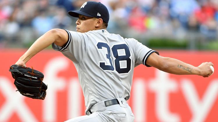 Jonathan Loaisiga sigue impresionando con los Yankees de New York