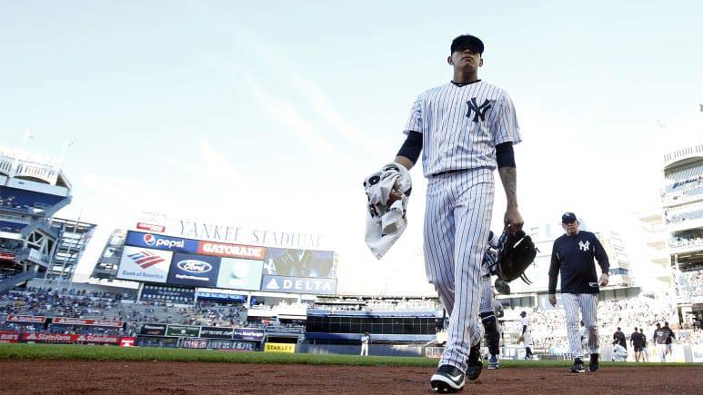 Jonathan Loaisiga gano dos partidos este campaña con los Yankees