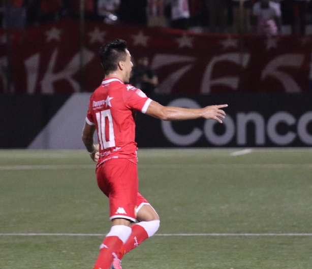 Barroca abrió el marcador por el Real Estelí