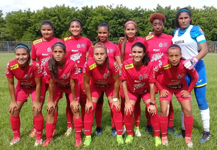 UNAN Managua Femenino Campeonas del futbol Pinolero