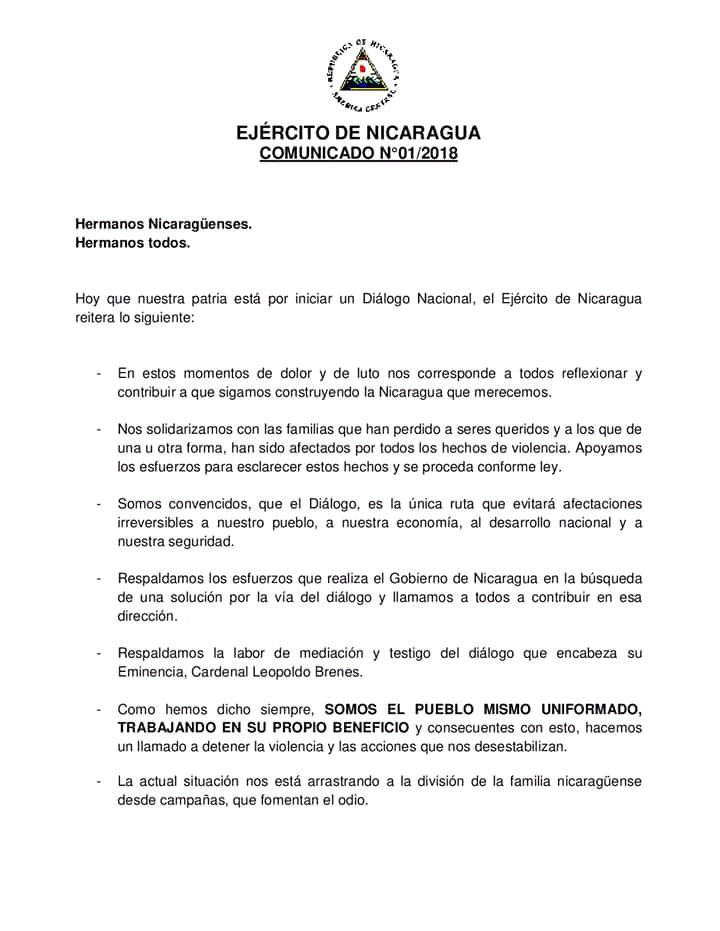 Gobierno de Nicaragua autoriza a CIDH observar situación de derechos humanos