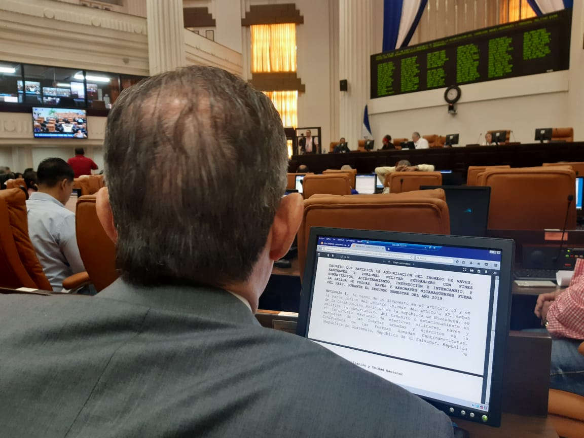 Asamblea de Nicaragua aprueba ingreso de militares extranjeros